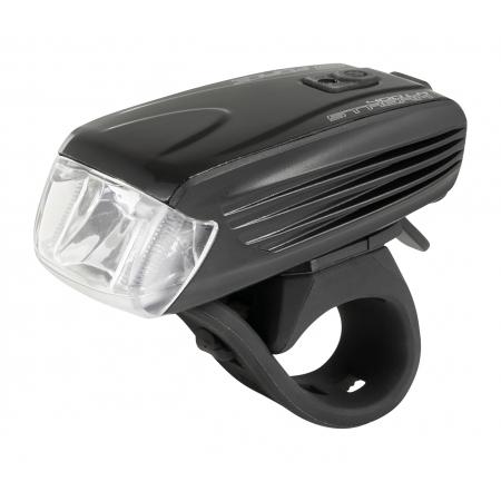 Světlo přední FORCE STREAM 400LM USB | černé obr.[1]
