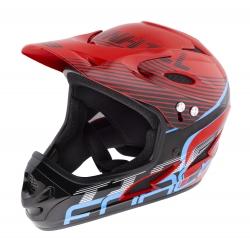 Přilba FORCE TIGER downhill | červeno-černo-modré obr.[1]