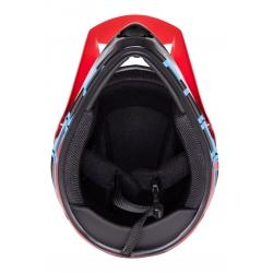 Přilba FORCE TIGER downhill | červeno-černo-modré obr.[4]