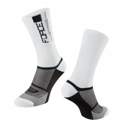 Ponožky FORCE STAGE | bílo-černé obr.[1]