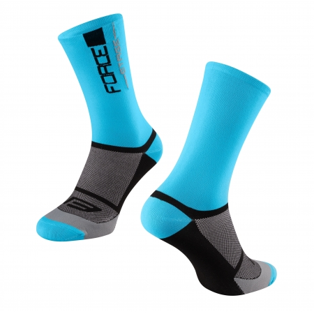 ponožky FORCE STAGE | modro-černé obr.[1]