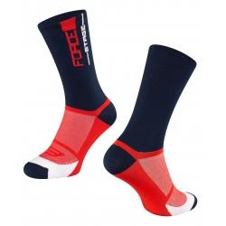 Ponožky FORCE STAGE | modro-červené obr.[1]