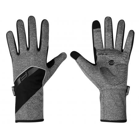 Rukavice Force GALE softshell | jaro-podzim | šedé obr.[1]