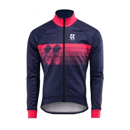 MOTION Z | Zimní bunda | modrá/růžová obr.[1]