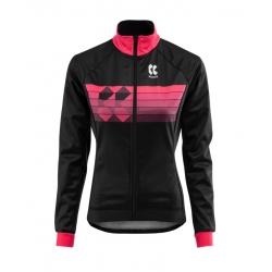 MOTION Z | Zimní bunda | černá/růžová | dámská obr.[1]