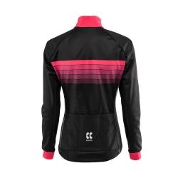 MOTION Z | Zimní bunda | černá/růžová | dámská obr.[2]