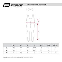 Kalhoty Force WINDSTER Z68 PRO se šráky bez vložky obr.[3]