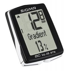 Počítač SIGMA BC 14.16 STS CAD 14funkcí | bezdrát |černý obr.[1]