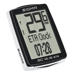 počítač SIGMA BC 16.16 STS CAD 16funk. bezdrát črn obr.[1]