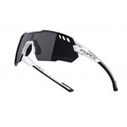 Brýle FORCE AMOLEDO bílo-šedé | černé skla obr.[1]