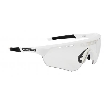 Brýle FORCE ENIGMA | bílé matná | fotochromatická skla obr.[1]