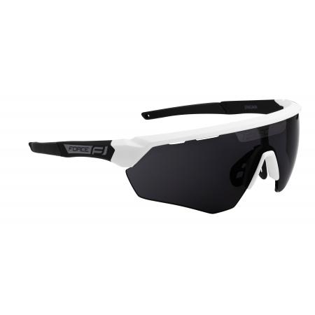Brýle FORCE ENIGMA | bílo-černé matná | černá skla obr.[1]