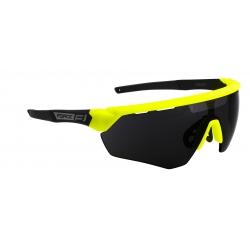 Brýle FORCE ENIGMA | fluo-černé matná | černá skla obr.[1]