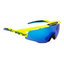 Brýle FORCE EVEREST fluo | modrá zrcadlová skla obr.[1]