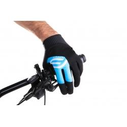 Rukavice FORCE MTB POWER | černo-modré obr.[2]