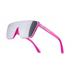 Brýle FORCE SCOPE | růžovo-bílé | černá zrcadlová skla obr.[1]