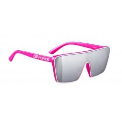 Brýle FORCE SCOPE | růžovo-bílé | černá zrcadlová skla obr.[2]