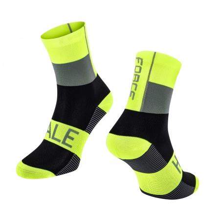 Ponožky Force Hale   fluo-černo-šedé obr.[1]