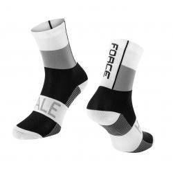 Ponožky Force Hale | bílo-šedo-černé obr.[1]