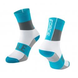 Ponožky Force Hale | modro-šedo-bílé obr.[1]