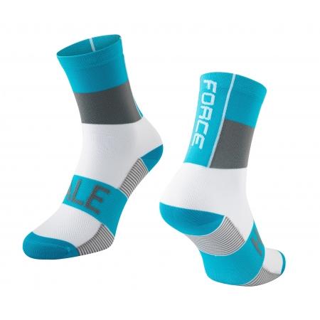 Ponožky Force Hale   modro-šedo-bílé obr.[1]
