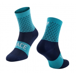 Ponožky FORCE TRACE   modré obr.[1]