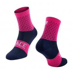 Ponožky FORCE TRACE | růžovo-modré obr.[1]