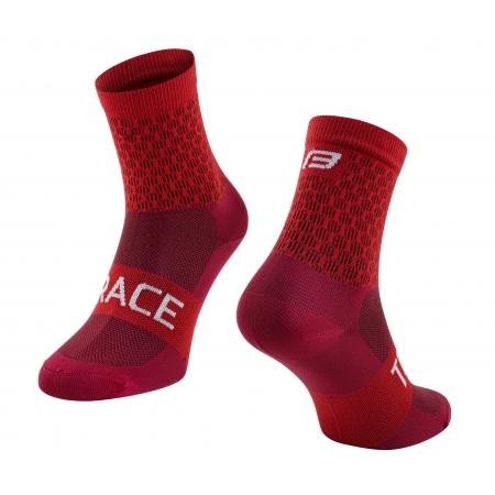 Ponožky FORCE TRACE | červené obr.[1]