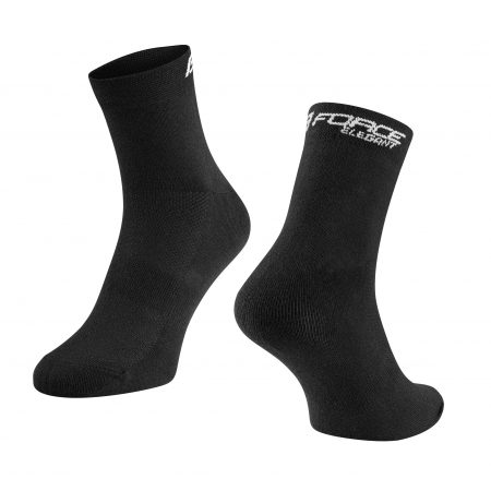 Ponožky Force Elegant nízké | černé obr.[1]