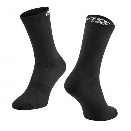Ponožky Force Elegant vysoké | černé obr.[1]