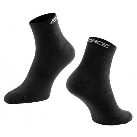 Ponožky FORCE MID volnočasové | černé obr.[1]