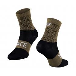 Ponožky FORCE TRACE | zeleno-černé obr.[1]