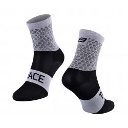 Ponožky FORCE TRACE | šedo-černé obr.[1]