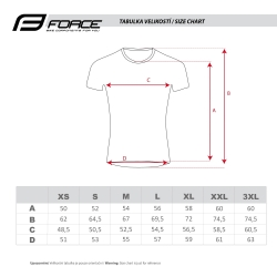 dres FORCE MTB ANGLE dámský krátký rukáv | růžovo-fluo obr.[4]