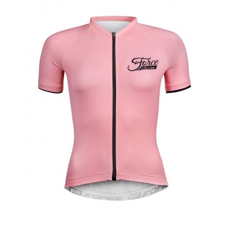 dres FORCE CHARM dámský krátký rukáv   světle růžový obr.[1]