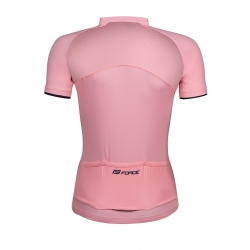 dres FORCE CHARM dámský krátký rukáv   světle růžový obr.[2]