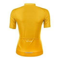 dres FORCE PURE dámský krátký rukáv | žlutý obr.[2]