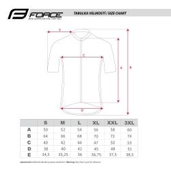 dres FORCE VISION krátký rukáv | bílý obr.[3]