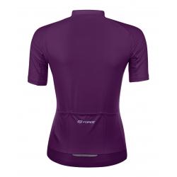 dres FORCE PURE dámský krátký rukáv | fialový obr.[2]