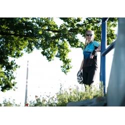 dres FORCE MTB CORE dámský | růžovo-modrý obr.[3]