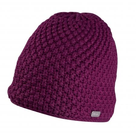 Čepice zimní FORCE GLEE | pletená | fialová obr.[1]
