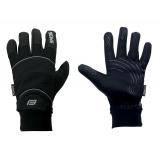 Cyklistické rukavice FORCE WINDSTER SPRING - černá