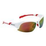 Brýle FORCE ULTRA bílé | červená skla