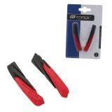 Brzdové gumičky červeno/černé - náhradní
