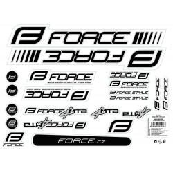 Nálepky FORCE 4 MTB na rám | 37x27cm | UV lak obr.[1]