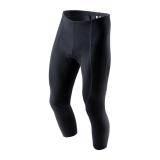 Cyklistické 3/4 kalhoty Golfky BASIC LYCRA | černé + SEDLO