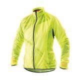 Cyklistická pláštěnka dámská PROFI X4 | neon