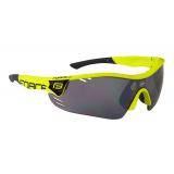 Brýle FORCE RACE PRO fluo | černá laser skla
