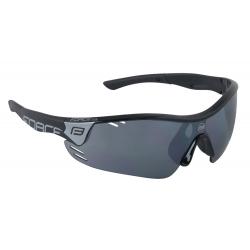 Brýle FORCE RACE PRO černé   černá laser skla obr.[1]