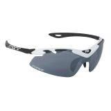 Brýle FORCE DUKE bílo-černé | černá laser skla